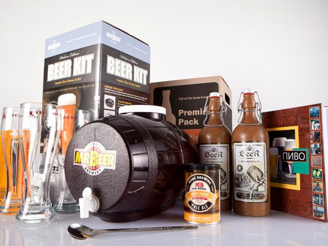Домашняя мини-пивоварня Mr.Beer 2010 Edition артикул 000014-4