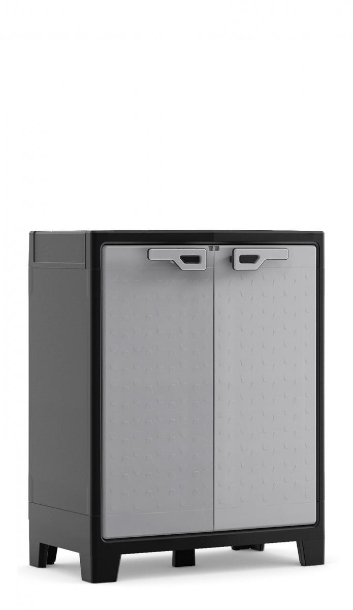 Пластиковый шкаф evoca titan low cabinet, фабрика kis.