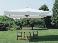 Зонт профессиональный с центральной стойкой, телескоп.